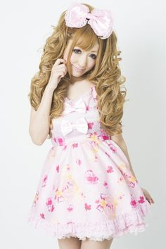 Princess Melody Princess carriage mini dress pink