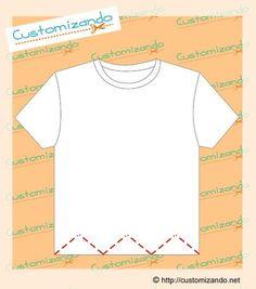 cortes de customização de camiseta Sewing Hacks, Sewing Crafts, Sewing Projects, Shirt Refashion, T Shirt Diy, Diy Clothing, Sewing Clothes, Cut Tee Shirts, Girls Fashion Clothes