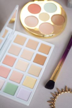All-in-one colour correcting palettes from Sephora Collection and Tarte. Body Makeup, Makeup Kit, Beauty Makeup, Makeup Products, Beauty Products, Beauty Kit, Beauty Hacks, Bronzer, Concealer