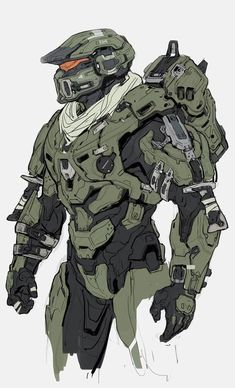 Halo Guardians Concept Art by Kory Lynn Hubbell Concept artist Kory Lynn Hubb. Halo Guardians Concept Art by Kory Lynn Hubbell Concept artist . Concept Art World, Robot Concept Art, Armor Concept, Game Concept Art, Armadura Do Halo, Game Character, Character Concept, Halo Armor, Halo Spartan Armor