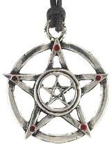 Protected Power Talisman Amulet Charm Pentacle Pentagram Necklace Pendant Charm Religious Wicca Wiccan Pagan Men's Women's Jewelry Five Pointed Star