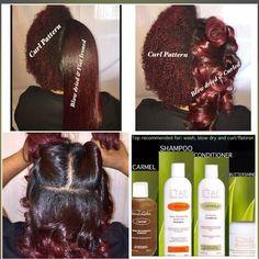ETAE on natural hair