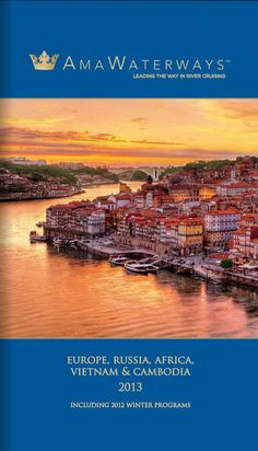 AMAWaterways river cruises - Call CruiseOne to book yours today - Erin (407) 878-3203 www.cruiseone.com/kkerns