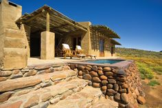 The Tankwa Karoo National Park part of SANParks, Western Cape offers accommodation in the form of camping, cottages, and guesthouses. Great Places, Places To Go, Game Lodge, Farm Stay, Exterior, Africa Travel, Holiday Destinations, Weekend Getaways, Lodges