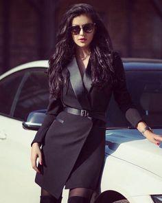 ️Оно роскошное!!! Платье- пиджак в чёрном цвете❤⚜️ •Размер