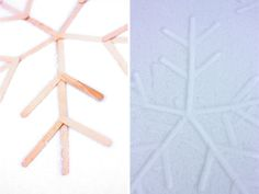 DIY Popsicle Snowflake Tutorial