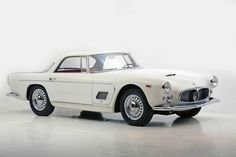 1957 Maserati 3500 GT Berlinetta  I think is one of the few Maseratis I like.