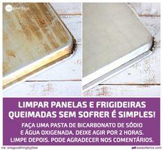 limpar panelas frigideiras queimadas