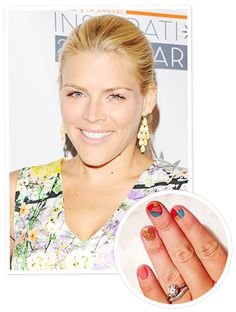 Busy Philipps Nails