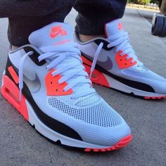 Nike Air Max 90 Infrared Hyperfuse  I love these! !!