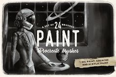Procreate paint brushes by MiksKS on @creativemarket