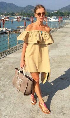 summer dress for the beach.