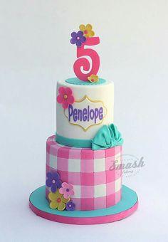 Picnic girly cake Apple Cake Pops, Cake Designs For Kids, Picnic Cake, Cake Design Inspiration, 5th Birthday Cake, Girly Cakes, Just Cakes, Love Cake, Pretty Cakes