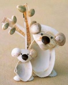 Quoi faire avec des coquillages, des idées, des tutos créations