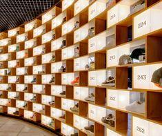 Internal view of Sneakerology in Westfield Sydney, Pitt Street.... HOT