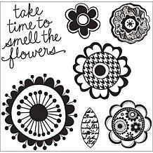 Kelly Panacci - Hampton Art Cling Stamps - Florals Kelly Stamps, Hampton Art, Stamp Pad, Florals, How To Find Out, Craft Projects, Decorative Plates, Crafts, Inspiration