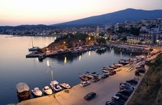 Photo about Port in Limenaria, island Thassos Greece, in early evening. Image of scenic, boat, coast - 6154891 Nintendo Ds, Potos Thassos, Pokemon Go, Thasos Greece, Wonderful Places, Beautiful Places, Greece Islands, Travel List, Greece Travel