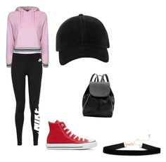 """😍😍😍"" by annialevine on Polyvore featuring Topshop, NIKE, Converse, Witchery and rag & bone"