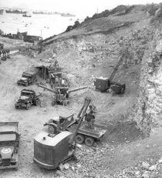 Stone crusher - France 1944