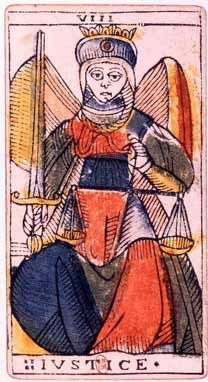 Jean Dodal Tarot trump 08 - Tarot of Marseilles - Wikipedia, the free encyclopedia