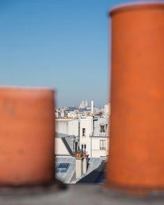 Aujourd'hui c'est Paris ! Petit week-end à la capitale pour voir de belles personnes ✌️ #madeinfrance #denim #jeans #france #paris #denimondenim #suddefrance #ateliertuffery #panorama #sky #skyline #sacrecoeur #montmartre