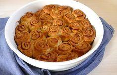 Makkelijke cinnamon rolls / kaneelrolletjes