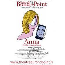 Affiche/ Théâtre Rond Point. Paris