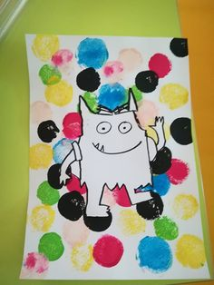 MC en maternelle | Exploitation pour l'école maternelle Art Activities For Toddlers, Color Activities, Open Art, Toddler Art, Feelings And Emotions, Lessons For Kids, Monster, Lesson Plans, Literacy