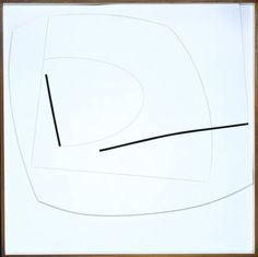 Linear Motif in Black and White 1960-1 victor pasmore