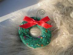 Wreath Christmas ornament