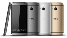 HTC One Mini 2 leaks out in gunmetal, silver, and gold - http://mobilemakers.org/htc-one-mini-2-leaks-out-in-gunmetal-silver-and-gold/