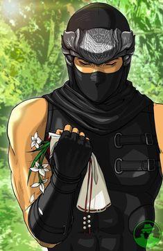 Dead or Alive Ryu Hayabusa Martial Arts Anime, Ryu Hayabusa, Dragon Ninja, Legend Drawing, Ninja Games, Dark Comics, Ninja Art, Mobile Legend Wallpaper, Mortal Combat