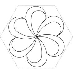 Hexagon Feather - Click Image to Close