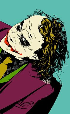 "Drawing by Vee Ladwa ""Well, Hello beautiful, you must be Harvey's squeeze! And you are beautiful. Well you look nervous, is it the scars?"" Joker to Rachel Dawes in The Dark Night Some men just want to watch the world burn. Alfred, The Dark Night"