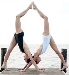 Yoga poses offer numerous benefits to anyone who performs them. There are basic yoga poses and more advanced yoga poses. Here are four advanced yoga poses to get you moving. Acro Yoga Poses, Partner Yoga Poses, Yoga Poses For Two, Basic Yoga Poses, Yoga Poses For Beginners, Yoga Inspiration, Yoga Fitness, Workout Fitness, Yoga Nature