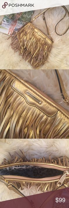 :: gorgeous finn fringe crossbody bag :: Love this bag but I just don't use it enough! In excellent used condition. Rebecca Minkoff Bags Crossbody Bags