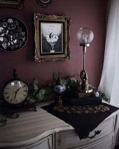 Punk Bedroom, Bedroom Decor, Bedroom Inspo, Single Apartment, Gothic House, Gothic Room, Goth Home Decor, Cute Room Ideas, My Ideal Home