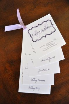 Good wedding program advice #weddingprograms #wiregrassweddings