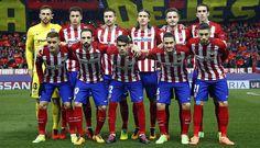 Atleti vs PSV // Once inicial // 0-0 (8-7 penaltis) // Vuelta Octavos de Champions