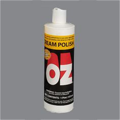 OZ® POLISH  OZ® Polish now offers antistatic agent for less dusting, ultraviolet light absorber to help protect the color of the wood and a new lemon scent has been added to give it a fresh clean fragrance. Specially formulated to clean, polish, and protect in one operation. May be used on any smooth surface furniture, marble, tile, refrigerators, cabinets, chrome, fixtures - you name it! (Click the link to access training videos and step-by-step instructions for this product!)