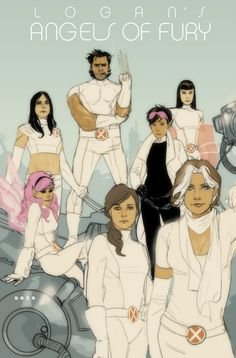 Note: Wolverine & Jubilee artist Phil Noto has taken Logan and his favorite female sidekicks into a new aesthetic realm. Marvel Comics, Marvel Art, Marvel Heroes, Comic Book Covers, Comic Books Art, Comic Art, Comics Illustration, Illustrations, All New Wolverine
