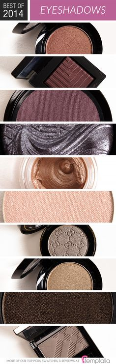 Top 10 of 2014: Best Eyeshadows