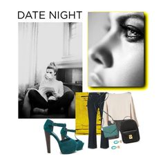 """""""That Date..."""" by sue-mes ❤ liked on Polyvore featuring Lui's, RED Valentino, Mark Cross, Kate Spade, KiraKira, women's clothing, women, female, woman and misses"""
