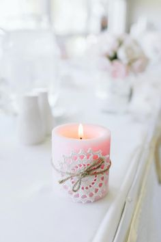 ♔ Floral by Candlelight Candle Lanterns, Diy Candles, Scented Candles, Pillar Candles, Candle Jars, Candle Holders, Bougie Candle, Photo Deco, Candle In The Wind