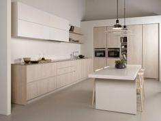 Küchen Design Einrichtung-Blockküche