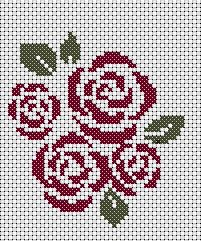 It has been a while since I gave away a free cross stitch chart, so here's another free chart, as usual it's simple easy and and requires only two colors,this pattern can be used on corners or as a...