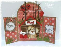Christmas Diy, Christmas Ornaments, Envelope Art, Remo, O Design, Marianne Design, Box, Cute Dogs, Scrapbook
