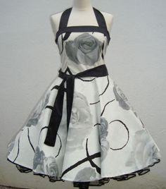 Petticoatkleider - Petticoat,50er,Rockabilly,Pinup,Marine,Kleid,Dress - ein Designerstück von historischekostuemwelt bei DaWanda