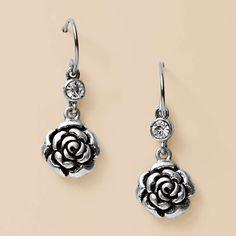 Fossil Jewelry Earrings Women Boyfriend Rose Double Drop Ja4467