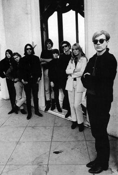 The Velvet Underground and Andy Warhol, 1970s.